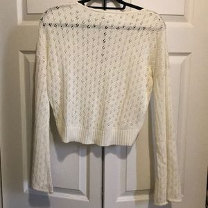 Somedays Lovin Sweaters - Cream knit cropped sweater